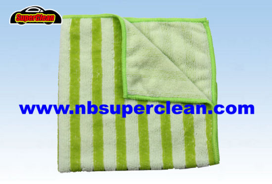 China Wholesale Printed Microfiber Cleaning Cloth, Car Wash Towel (CN3648)