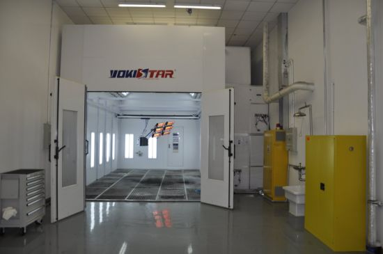 Automotive Spray Booth Maintenance Paint Booth Ce Certificate