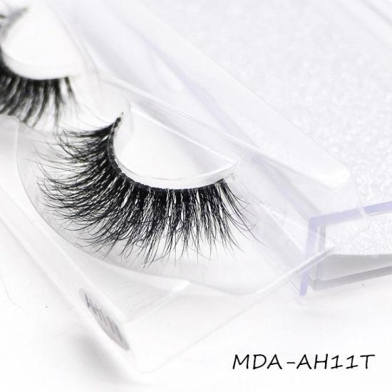 Natural False Eyelash Packaging 3D Mink Handmade Eyelash