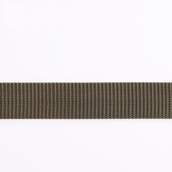 Elastic Gray Polyester/Nylon/Cotton Strap Webbing with Ends pictures & photos