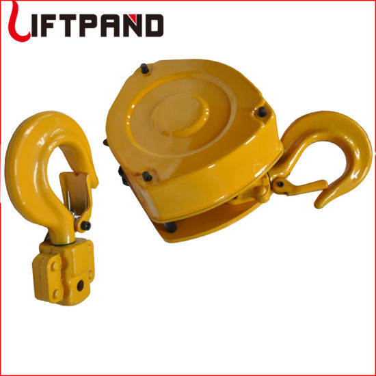 1000kg Manual Lifting Chain Block Hoist Tackle Pulley Block with G80 Block Chain