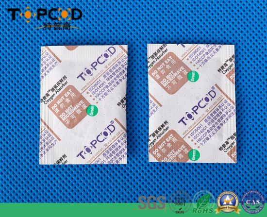 Fast Absorption Fresh Preservation Oxygen Absorber Used in Europe pictures & photos