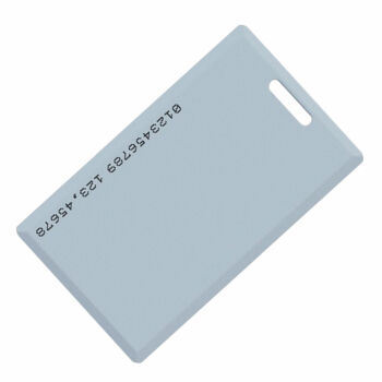 White Thin ID Card for RFID Access Control System 125kHz/ 13.56MHz Keytag pictures & photos