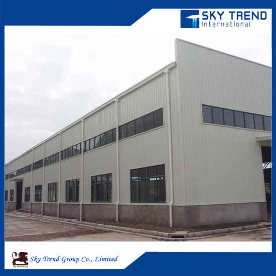Prefabricated Metal Frame Steel Warehouse pictures & photos