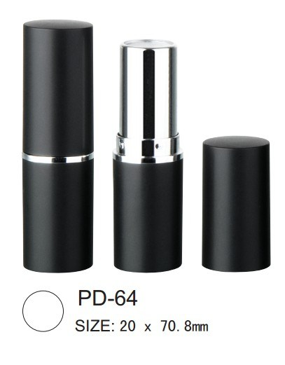 Empty Round Plastic Lipstick Case Tube Packaging Container with Cup 12.1/12.7mm pictures & photos