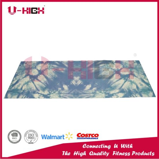 PVC Printing Yoga Mat Pilates Mat Exercise Equipment pictures & photos