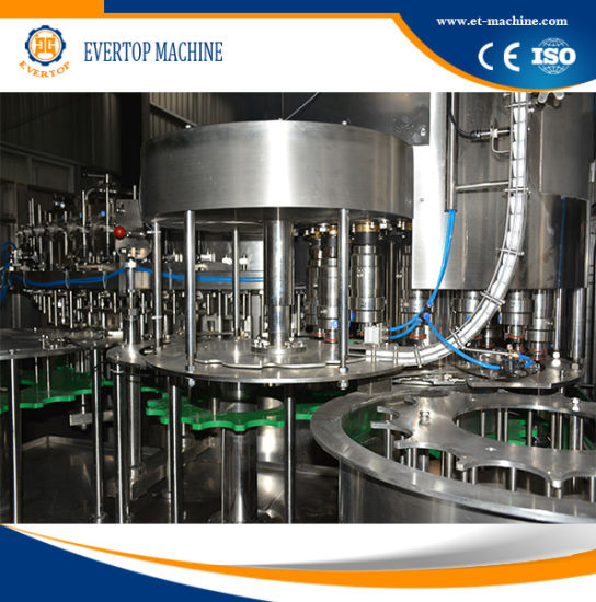 Carbonated Drinks in 500ml Pet Round Bottles Filling Machine pictures & photos