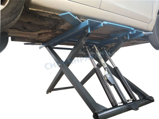 2.7t Widely Used Car Scissor Lift for Home Garages
