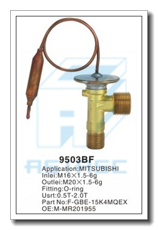 Customized Thermal Brass Expansion Valve for Auto Refrigeration MD9501bf pictures & photos