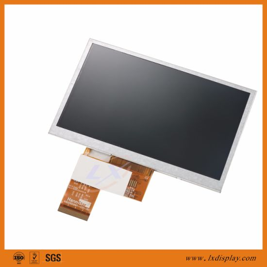 "5"" 480*272 LX500A4003 LCD Screen with Standard Luminance 300nits Wide Viewing Angle pictures & photos"
