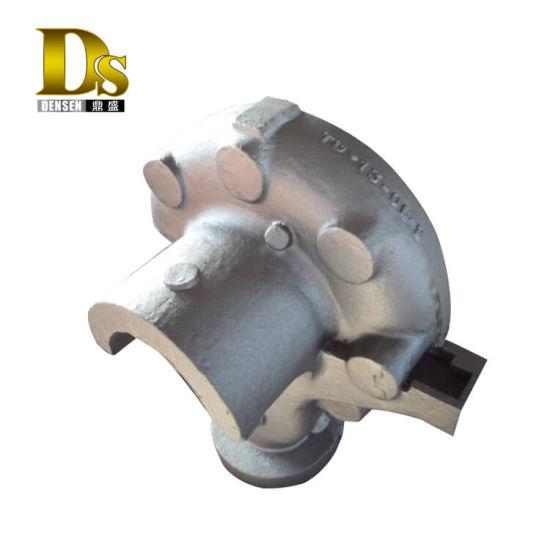 Densen Customized Super Large Cast Steel Sand Casting Pump Body, Casting Water Pump Body, Pump Body Parts