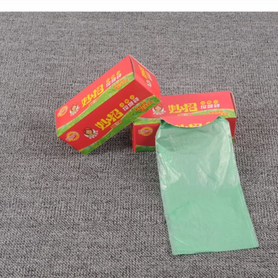 Heavy Duty Leakproof Perforated Plastic Garbage Bags Roll Trahs Bags pictures & photos