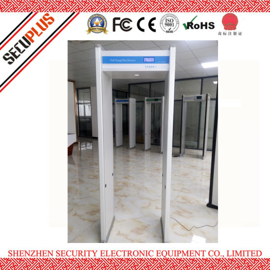 China 8 zones Airport Security Scanner Walk Through Archway Metal