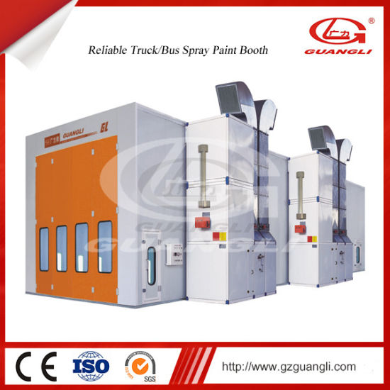 China Leading Manufacturer Ce Approved Auto Truck/Bus Spray Painting Baking Oven Room pictures & photos
