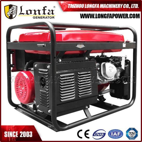 Anditiger 5000W Petrol Generator Portable with Wheels Honda 5kw Generator pictures & photos