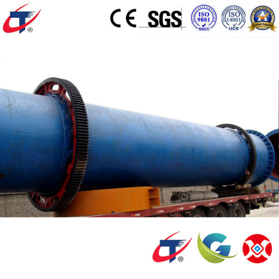 Gaogong Group Compost Fertilizer Rotary Drum Cooling / Dryer