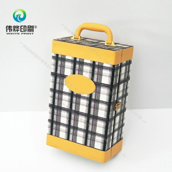 Suit Case Shape Wine Box Ars Gift Crafts