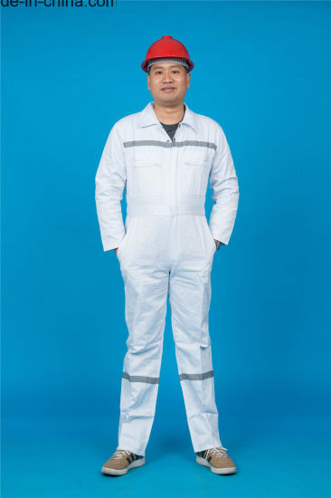 Long Sleeve Safety Working Garment with Reflective (BLY1021)