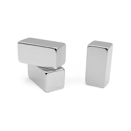 N35 Strong Block Neodymium Rare Earth Magnets for Speakers