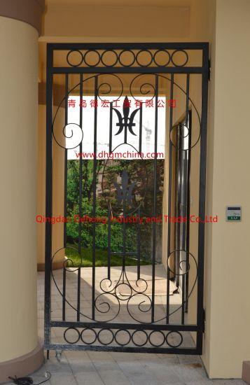 Beautiful Security Design Wrought Iron Gate