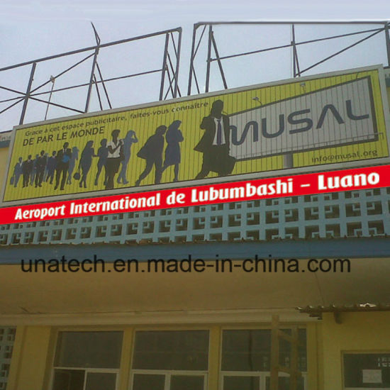 Unipole Large Size Mega Signage Signboard Trivision Billboard pictures & photos