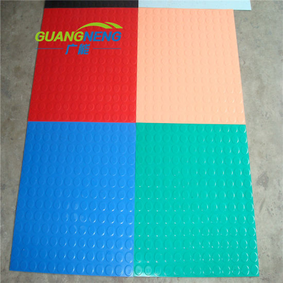 Anti Slip Fire-Resistant Rubber Flooring for Hosptial pictures & photos