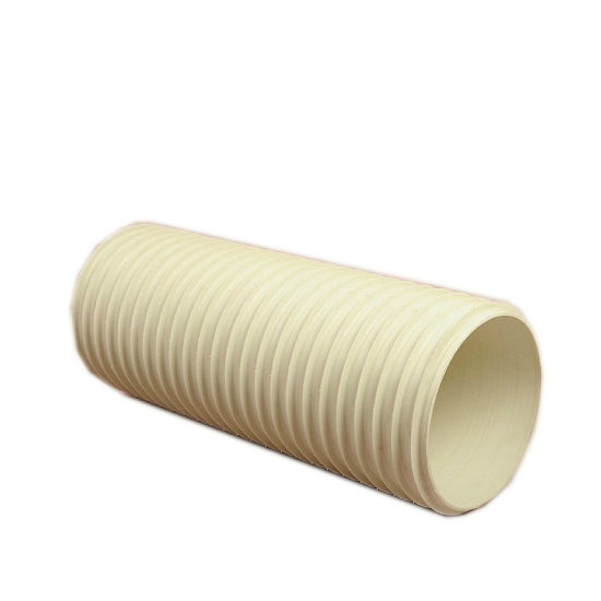 """Wholesale Yellow Color 24"""" PVC Double Wall Corrugated Drainage Pipe"""