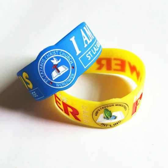2019 Hot Sale Silicone Wristband with Competitive Price