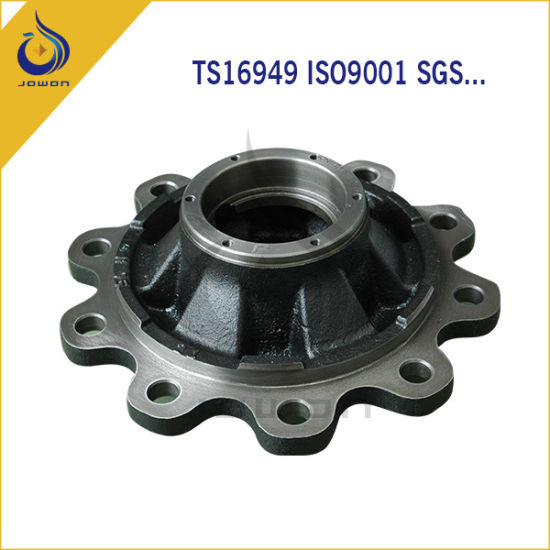 Black Surface Finish Auto Spare Part Truck Wheel Hub pictures & photos