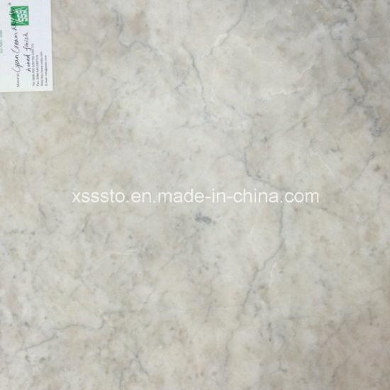 China Factory Price Cyan Cream Marble Flooring Tiles China Tile