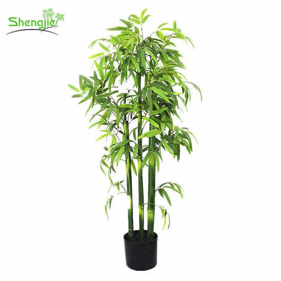 China Cheap Wholesale Indoor Decorative Artificial Bamboo Bonsai Plant China Artificial Bamboo Plant And Artificial Bonsai Plant Price