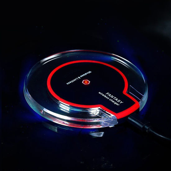 Crystal Fantasy Wireless Charger Universal Qi Wireless Magnetic Induction Charger pictures & photos
