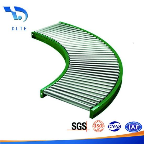 China Industrial Free Straight Model Gravity Roller Conveyor