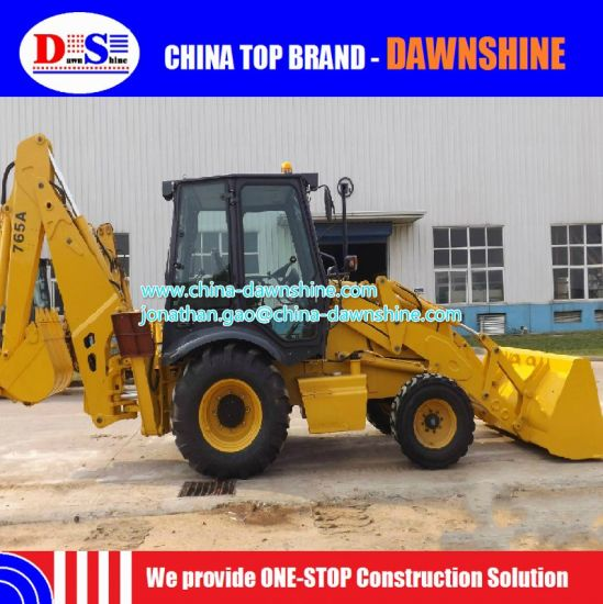 China Road Construction Equipment Clg765A Liugong Backhoe Loader pictures & photos