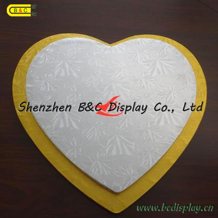 Different Shape and Size Round Cake Boards Square Cake Boards with SGS (B&C-K003) pictures & photos