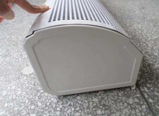 PTC Electric Heating Air Door/Air Curtain with (Cross Flow) Thermostat pictures & photos