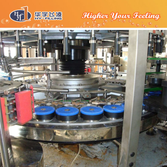 Hy-Filling Linear Adhesive Glue Labeler Machine pictures & photos