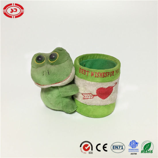 Frog Toy Cute Office Outstanding Custom Pencil Container pictures & photos
