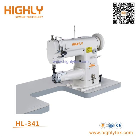 Hl-341 Single Needle Cylinder Bed Compound Feed Heavy Duty Sewing Machine