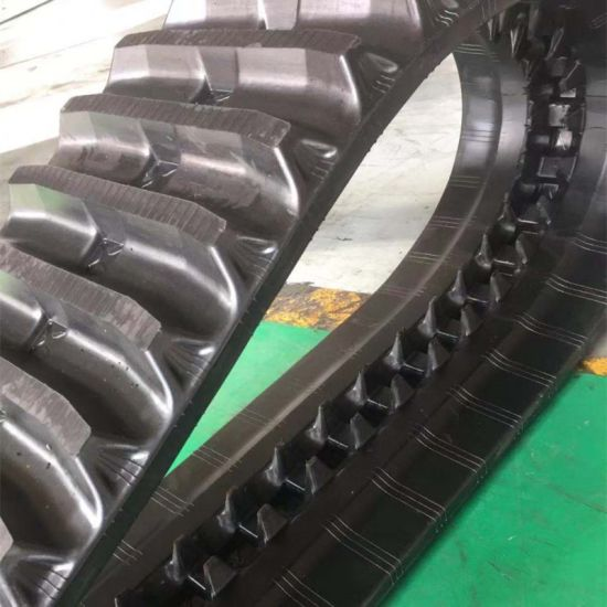 Dumper Rubber Track U380*90*56 for Construction Equipment pictures & photos