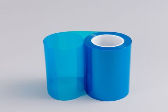 Heat Resistent Insulation Clear Blue Pet Film (CY20L) pictures & photos
