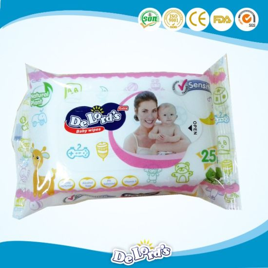 Hot Selling Towel Baby Wet Wipes pictures & photos