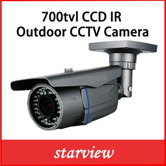 700tvl Waterproof Zoom IR CCTV Bullet Security CCD Camera pictures & photos