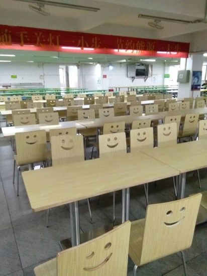 Canteen Restaurant Furniture Table and Chair Set