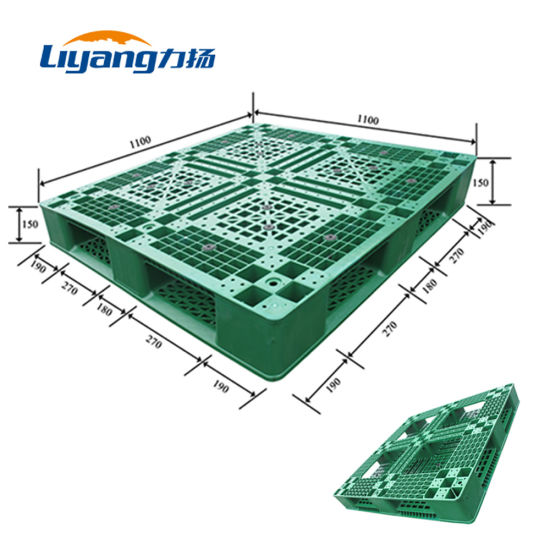 Automotive Industry HDPE 4-Way Entry Plastic Pallet