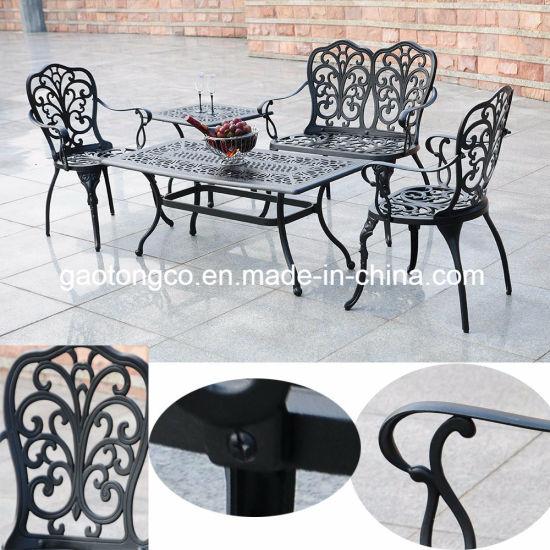 Fendias Homes and Gardens 3-Piece Cast Aluminum Bistro Set Outdoor Furniture