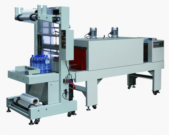 Semi Automatic Bottles Film Heat Shrink Packing Machine