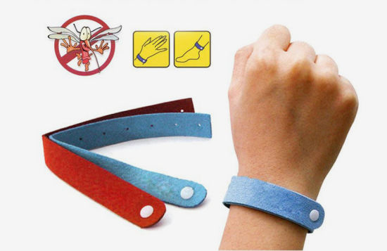 Natural Mosquito Repellent Bracelet for Outdoor/Indoor Use pictures & photos