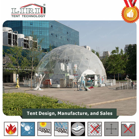 Geodesic Dome Tent Used for Outdoor Events