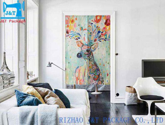 Wholesale Custom Decorative Printed Japanese Kitchen Door Curtain China Door Curtain And Canvas Curtain Price Made In China Com